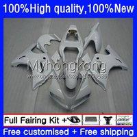 Fairings for Suzuki All White SV-1000 SV-650 SV1000 SV650 SV 650 1000 s 33NO.2 SV1000S SV650S 03 04 05 06 07 08 SV 650S 1000S 2003 2008 2009 2010 2011 2012 2013 Bodys