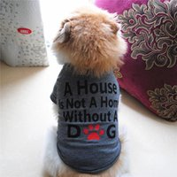 Dog Apparel Lover Gifts Cotton Summer Shirt Small Cat Pet Clothes Vest T Shirtaccessories 2021 Arrivals Selling