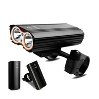 Bike Lights GIYO Bicycle Front Light 2400Lm Headlight T6 Leds Cycling For Mountain Or Road