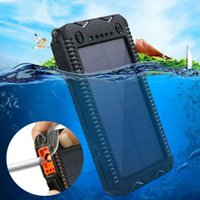 80000mAh Solar Power Bank High-Capacity Phone Charging Power Bank with Cigarette Lighter Double USB Outdoor Emergency Charger