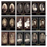 2021 Хэллоуин Party Party Party Bar 3D The Ghost Festival Изменить Картина Кадр Картинки Альбом Декоративные реквизиты Настенные Подвески Ужас DHD10194
