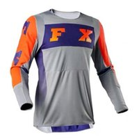 2021 Summer Fans Cycling Jersey Motocross Quick-drying Round Neck Long Sleeve T-Shirt