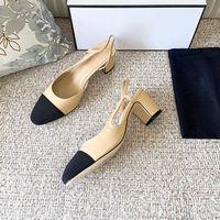 Женские платье обувь сандалии кожаные высокие каблуки весна и осень заостренный носок высота 6,5 см 35-40