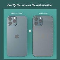 Silikon Ultra Ince Yumuşak TPU Cep Telefonu Kılıfları Şeffaf Mobil Kabuk Kapakları Kapakları Iphone 12 Mini Pro Için MAX Için Anti-titreşim ve Bırak