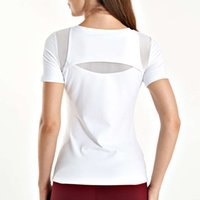 TrackSuits Quartable 짧은 소매 실행 스포츠 티셔츠 슬림 맞는 탄성 빠른 건조 조끼 휘트니스 탑 요가 정장 여성
