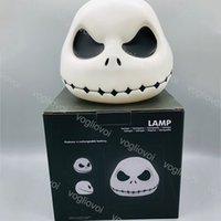 Lumières de nuit 5V USB Light 6 Moine Coloré Creative Creative Creative Skull Ghost Jack DHL
