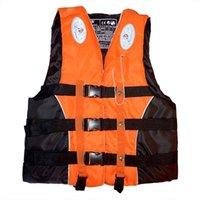 Chaleco de vida para niños adultos de alta calidad Natación de natación Navegación navegando navegando chaleco poliéster chaqueta de seguridad