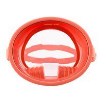 Scuba masque de plongée de plongée de plongée de plongée gratuit Plongée gratuit Lentille à lentilles simples anti-brouillard pour la plongée sous-marine Free Free