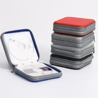 Storage Bags 40pcs Portable Disc CD DVD Wallet Organizer Case Boxes Holder Sleeve Hard Bag Box Cases With Zipper