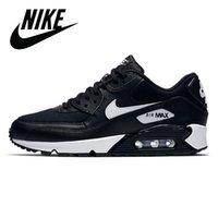 2021 Air max 90 Running shoes For Men shoes classiche e donna sportiva sportiva maglia blu cuscino nero superficie superficie traspirante taglia 36-45
