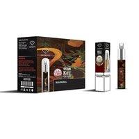 MEMENTO K03 Cigarett Engångs POD-enhet med RGB Light Damp 1500 Puffs 4.8ML 850MAH Starter Kit