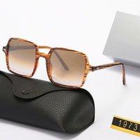 Neue quadratische Rahmen SUANGLASS Damen Herren Sonnenbrillen Die hellen Farblinsen UV380 Brillen Männer Sommerbrillen mit Kasten