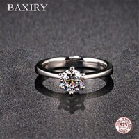 Cluster Rings Trendy Amethyst Gemstones Silver 925 Jewelry Engagement Aquamarine Ring For Women Blue Sapphire 2021