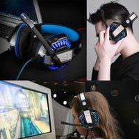 Beexcellent GM-2 Gaming Headset سماعات الرأس السلكية سماعات الألعاب لجهاز الكمبيوتر إلغاء الضوضاء الهاتف مع التحكم في خط LED