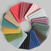 Wholesale Classic Sleek Multi-card Coin For Purse Set Women Business Minimalist Credit Card Mini Ienrk