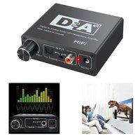 Switch bidirectionnel bidirectionnel DAC Optical Coaxial Numérique à l'adaptateur analogique
