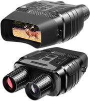 BekinTek Waterproof Night Vision Binoculars Telescope Infrared Hunting Device 300m Observing Distance in Full Darkness 4x Zoom 720P Video