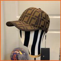 2021 Beyzbol Şapkası Kova Şapka Kadın Erkek Şapka Lüks Tasarımcılar Kapaklar Şapka Erkek Casquette Bonnet Beanie Yaz Gömme Kamyon Şoförü F Caps 2106076YL