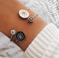 2021 Fashion Turkey Evil Eyes Bracelets Men Women Religious Hamsa Hand Charms Bracelet & Bangles Wholesale Jewelry