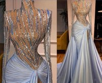 Evening dress Women dress Silver Crystal High neck Sheath Floor length Yousef aljasmi Kim kardashian Kylie jenner Kendal