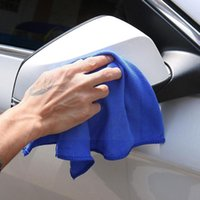 Car Sponge Microfiber Cleaning Towel Automobile Motorcycle Soft Absorbent Washing Household Great Glass Small Abili H6O8