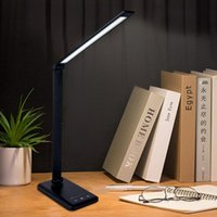 Table Lamps Multifunctional Touch Lamp Eye Protection Reading Dimmable LED Desk Smart With USB Charging
