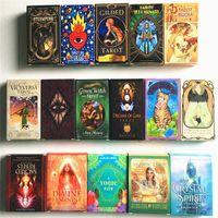 Tarot Kartları Güverte İngilizce Işık Visions Kart Oracles Rehber Kitap Oyunları Oyuncak Kehanet Board oyunu, Oyuncaklar oynamaya değer oyuncaklar karıştırdığınızda bir cevap bulmak için kullanın