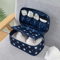 Storage Bags Travel Multi-function Bra Underwear Packing Organizer Bag Socks Cosmetic Case Large Capacity Women Clothing Pouch