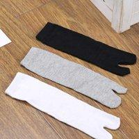 Bamboo Japanese Men and Women Summer Fiber Two Finger Black Kimono Flip Flop Sandal Split Ninjia White Tabi Teen Socks