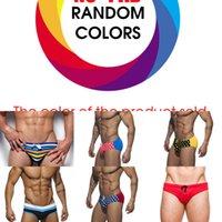 Sexy Maillots de bain Hommes Bretagne Trains de baignade étanche pour maillot de bain Hommes Plus Taille Maillot de bain Hommes Gay 2019 Nouveau Maillot de bain chaud L0302