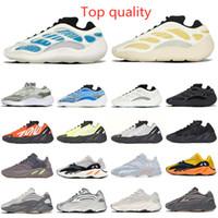 Adidas Yeezy Boost 700 700 V3 V2 러너 Mauve Kanye 새로운 색상 태양 밝은 파란색 웨이브 Vanta Safflower Shoes 남자 Womens 스포츠 디자이너 육상 몰래 크기 36-45