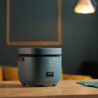 220V 1.2L bonito mini fogão de arroz pequeno 1-2 pessoa fogão de arroz domiciliar único cozinha pequena eletrodomésticos com punho