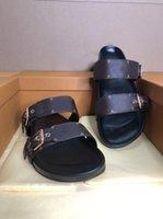 2021 Kadın Sandalet Terlik Nakış Tasarımcıları Slide Sandal Çiçek Brocade Çevirme