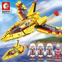 Partiklar 1 Monterade Senbao Alter Genuine Man Feiyan No. 108685 Hero Diy Victory Cosmic Building Block Small Toy Abaf
