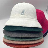 Wide Brim Hats Product Kangol Towel Material Dome Fisherman'S Hat Kangaroo Mesh Women'S Bucket Fashion Breathable Panama Lady Cap