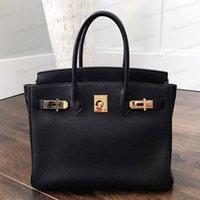 Designers sacola bolsas de mulher bolsas de grande capacidade de moda full-grão lichia padrão de couro genuíno sacos de ombro sacos de compras carteira para bolsa de bolsa