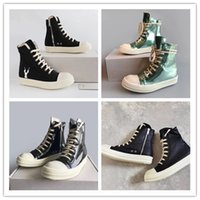 20SS Dropship Factory Outlet Top TPU Sole Lace Up Botas de Lona Treinadores Snearkers Unisex Hip Hop Street Boots