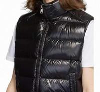 2021 Moda Gilet Designer Down Giacca Maglia per Mens Donne Stylist Giacca invernale Uomo Donna Down Cappotti Giacche senza maniche