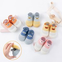 First Walkers 2021 Summer Children Toddler Baby Sock Shoes Girl&boy Soft Rubber Sole Non-slip Spring Cartoon Animal #ZYJ