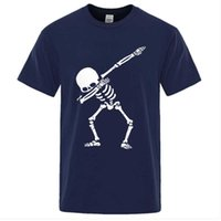 Men's T-Shirts Brand High Quality For Men Short Sleeve Print Skull Man T Shirt Casual O-neck 2021 Summer Mens Tee Shirts Funny Tshirt