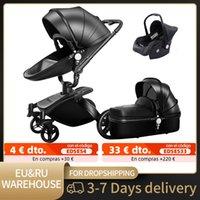Designer Luxe kinderwagen Baby 3 in 1 driewieler Walker High Landschap Vouwen S Trolley Cart voor kinderen Pushcart