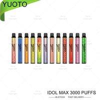 Autentisk Yuoto Luscious 3000Puffs Engångs E-Cigarette Vape Pod Cartridge Device Kit 3000 Puffs 8ml Real Zinwi 1350mAh Batteri Youto XXL Plus Shine 1500 bubbla