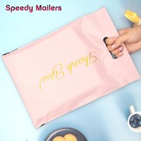 Gift Wrap 50pcs Pack Express Bag Printed Tote Thick Waterproof Courier Bags Self-Seal Adhesive PE Poly Envelope Mailing