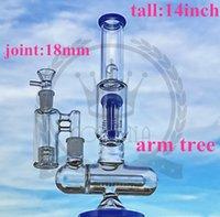 Рециркулятор стеклянный кальянский стакан Hitman Hitman Bong водопроводные трубы ZOB Zob quater Arms Very Perc DAB нефтяные буровые установки BONGS BUBBLES RING PING