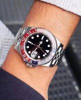 2021 Наручные часы Часы Роскошные Устойчивые Керамические Безрель Мода Женщины Леди Мастер Мужчины Мужские Автоматическое Механическое движение GMT Дизайнер Часы Световой Алмаз
