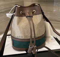 أكياس الرباط 2021 جديد المصممين المدربين دلو حقائب الكتف حقيبة حقائب جلدية فتاة لامع أزياء المرأة حقائب الصليب الجسم مخلب