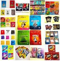 2021 500 мг Zushi Mylar Bag Tobacco Розничная торговля 3.5G Упаковочные сумки Детская Функция