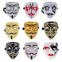 Other Event & Party Supplies Movie Cosplay V For Vendetta Hacker Mask Film Theme Anonymous Guy Fawkes Halloween Christmas Gift Adult Kids