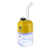 MINX Wax e cigarette Starter Kits concentrate dab vapes with 1880mAh Battery Portable Vape mod dabber Glass Bongs Water Pipes vaporizer kit