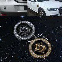 Auto-styling Auto 3D Diamond Crown Metal Badge Stickers Decals Gepersonaliseerde Decoratie Automobielen Auto Sticker
